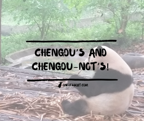 Chengdu's and Chengdu-not's!